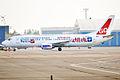 Go2Sky, OM-GTB, Boeing 737-49R (16270569677).jpg