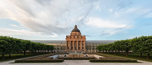 Gobierno Estatal de Baviera, Múnich, Alemania, 2017-07-07, DD 01.jpg