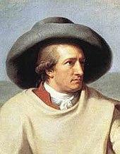 Portrait de Goethe