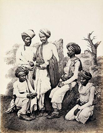 Slavery in India - Golas or hereditary slaves of Kathiawar, c. 1855