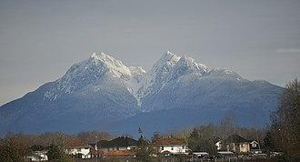Golden Ears (peaks) - Image: Golden Ears mountain