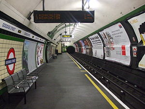 Goodge Street tube station - Image: Goodge Street stn southbound