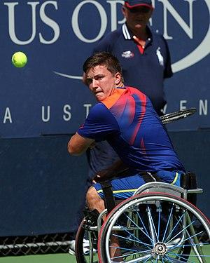 Gordon Reid (tennis) - Reid at the 2013 US Open