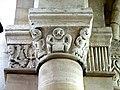 Gournay-en-Bray (76), collégiale St-Hildevert, bas-côté sud, chapiteaux du 5e pilier libre, côté ouest 1.jpg