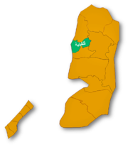 Location of قلقيلية
