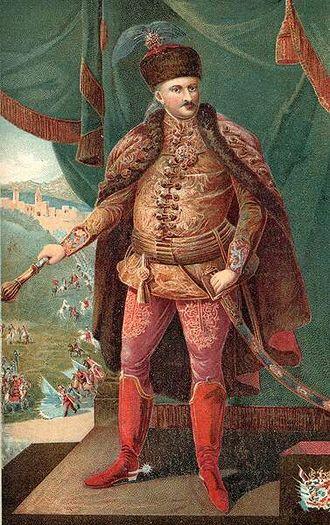 Carei - Count Sándor Károlyi de Nagykároly (1688 - 1743)