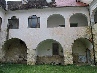 Raka Castle - Image: Grad raka iznutra