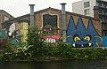 Graffiti, River Lee Navigation, East London - geograph.org.uk - 1907180.jpg