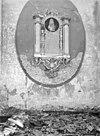 grafmonument van pieter huybert, na de brand - burgh - 20045961 - rce