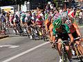 Grand Prix Cycliste de Montréal 2011, Peloton on Parc Blvd (6145720578).jpg