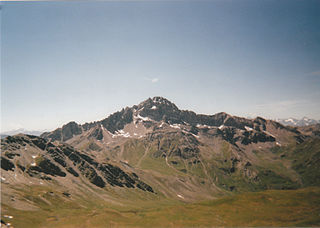 Pic de Rochebrune Mountain in France