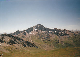 Pic de Rochebrune - Pic de Rochebrune: eastern slopes