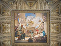 Grand staircase ceiling with Apotheosis of the Renaissance fresco (Kunsthistorischen Museum).jpg