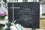 Grave of Sabina Kilarska at Central Cemetery in Sanok (symbolic Edward Kilarski) 2.jpg