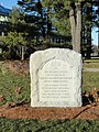 Gravity Research Foundation monument - Gordon College - DSC02696.JPG