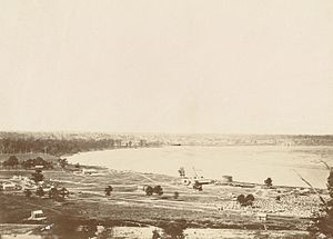 Great Bend, Kansas - Great Bend, Kansas, ca. 1869