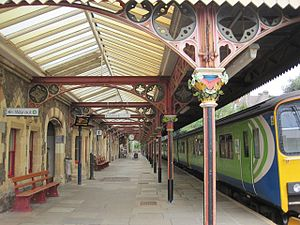 Great Malvern railway station - Northbound platform