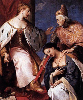 Gregorio Lazzarini - Image: Gregorio Lazzarini Doge Morosini Offers the Reconquered Morea to Venice WGA12525