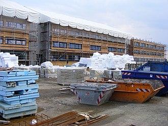 Wörrstadt - Construction Site in Wörrstadt, June 2008