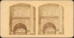 Group of 17 Early Calotype Stereograph Views - Arc de Triomphe du Carrousel.jpg