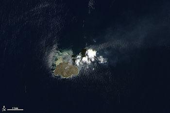 島 現在 之 西 西之島