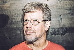 Guido van Rossum at the Dropbox headquarters in 2014