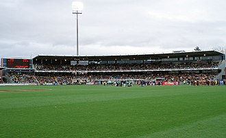 York Park - Gunns Stand during Hawthorn vs Brisbane AFL match in 2009