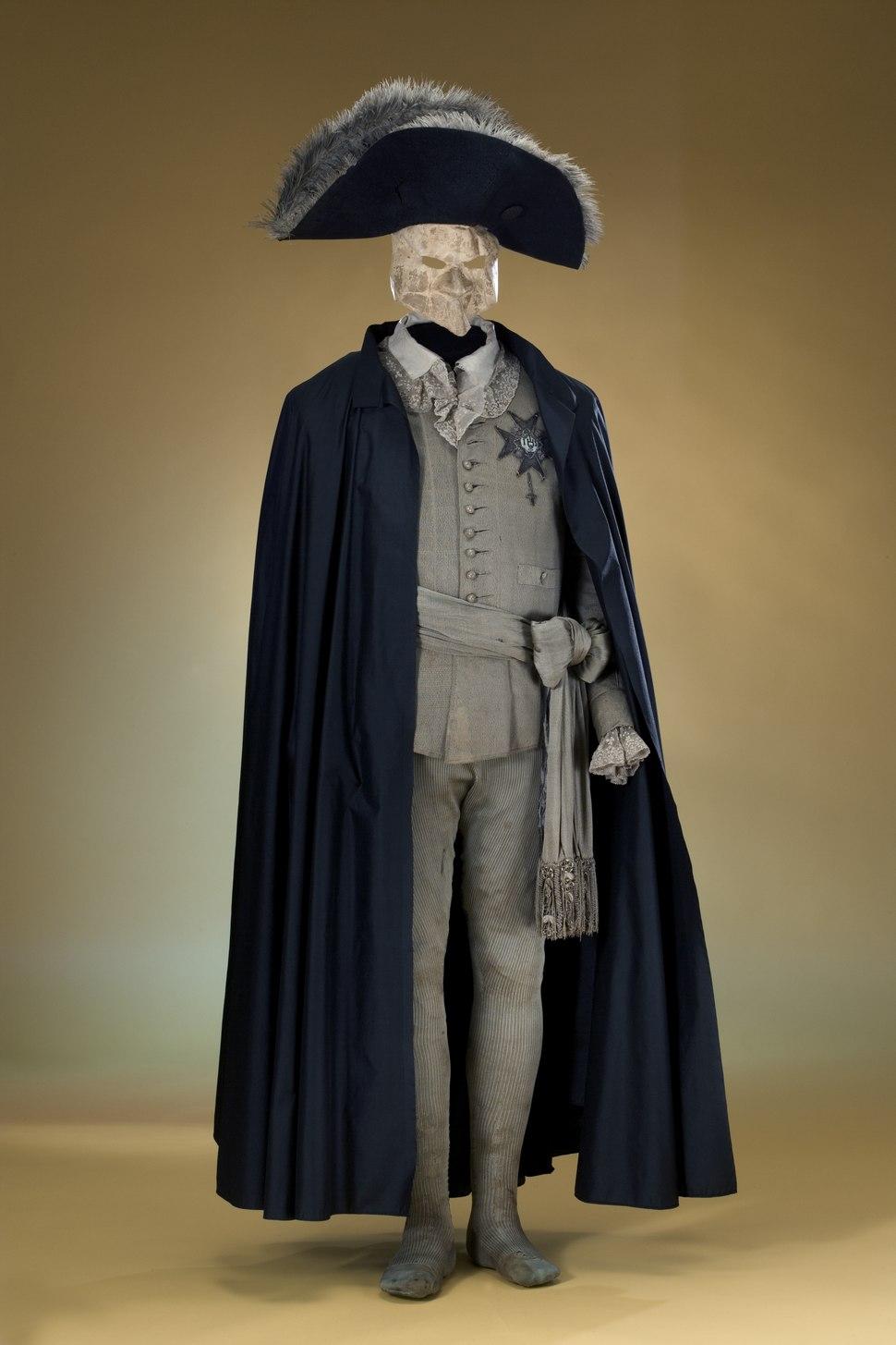 Gustav IIIs maskeraddräkt - Livrustkammaren - 24373
