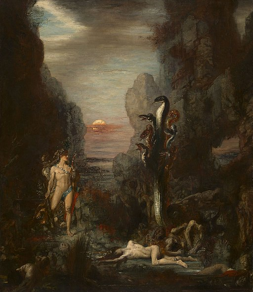 Gustave Moreau - Hercules and the Lernaean Hydra - 1964.231 - Art Institute of Chicago