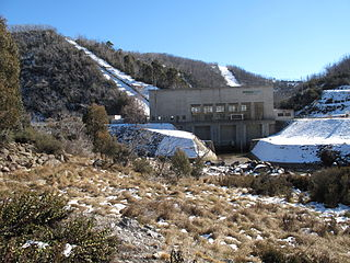 dam in Snowy Mountains, New South Wales