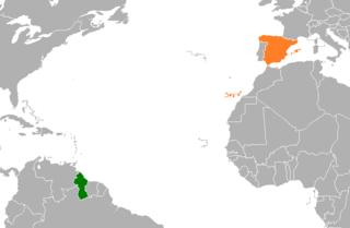 Guyana–Spain relations