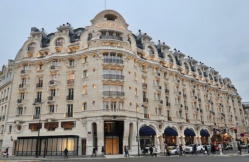 Fichier:Hôtel Lutetia, Paris 6e.jpg