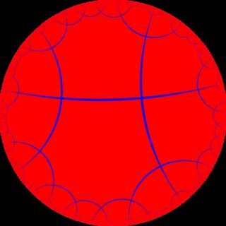 Order-4 octagonal tiling