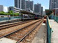 HK 屯門 Tuen Mun 青麟路 Tsing Lun Road 港鐵 青松站 Ching Chung Stop Kin Sang Estate July 2016 DSC.jpg