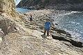 HK ALC 鴨脷洲 Ap Lei Chau 東博寮海峽 East Lamma Channel 鴨脷排 Ap Lei Pai view 香港仔海峽 Aberdeen Channel rock beach November 2019 IX2 10.jpg