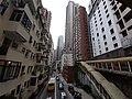HK Central-Midlevels SOHO escalators view Robinson Road November 2020 SS2 16.jpg