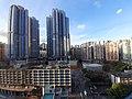 HK KT Kwun Tong APM mall view 裕民坊 Yue Man Square buildings evening July 2020 SS2 03.jpg