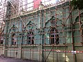 HK Mid-levels 回教清真禮拜總堂 Jamia Mosque temple under Renovation Jan-2011.jpg
