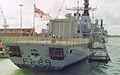 HMS Lancaster (F229) Type 23 Frigate 4,900 tonnes, Royal Navy. (11669455355).jpg