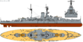 HMS Revenge (1916) profile drawing.png