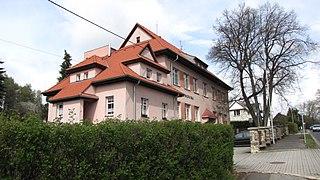 Habartov Town in Karlovy Vary, Czech Republic