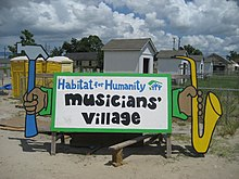 HabitatMusiciansVillageSign20Aug07.jpg