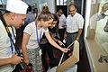 Hacking Space Participants Visit Evolution of Life Interpretation Area - Science Exploration Hall - Science City - Kolkata 2016-03-29 2865.JPG