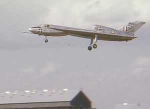 Handley Page HP.115 - The HP.115 at the 1962 Farnborough Air Show in 1962
