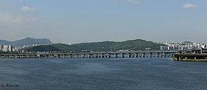 Hannam Bridge - April 2014.