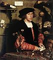 Hans Holbein The Younger Portrait of the merchant Georg Gisze 1532.jpg
