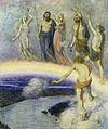 Hans Thoma - Zug der Götter nach Walhall (1880).jpg