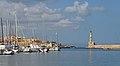 Harbor and lighthouse of Chania. Crete, Greece.jpg