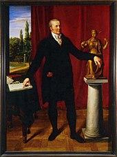 Karl August von Hardenberg, Gemälde von Friedrich Wilhelm von Schadow, vor 1812 (Quelle: Wikimedia)