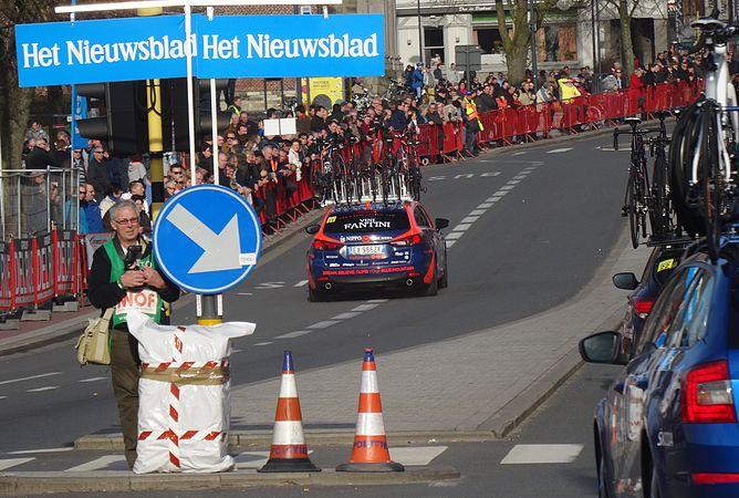 Harelbeke - Driedaagse van West-Vlaanderen, etappe 1, 7 maart 2015, aankomst (A40).JPG